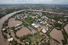 The Brisbane Flood 2011image credit: University of QLD
