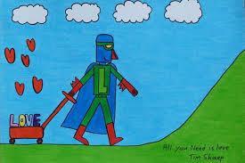 Laser Beak Man knows iT!